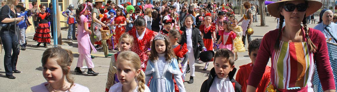 Le carnaval à l'école